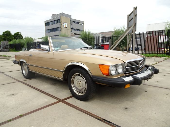Mercedes-Benz - SL450 Roadster (Convertible) - 1980