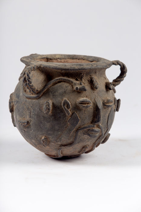 Osun pot in bronze - BENIN - Nigeria