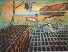 Salvador Dali (after) - The Disintegration of the Persistence of Memory
