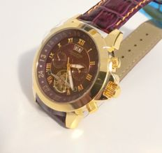 "Calvaneo 1583 – ""Astonia Gold Violet"" – men's wristwatch – 2017"