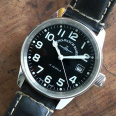 Zeno-Watch Basel — Manual Big Pilot Date XL Size Top Condition — Hombre — 2011 - actualidad