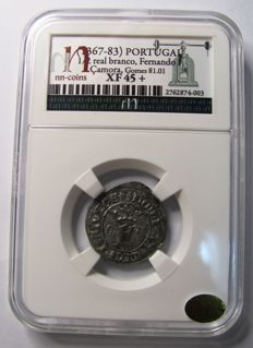 Portugal – Fernando I (1367-1383) – 1/2 Real – Samora – Very rare