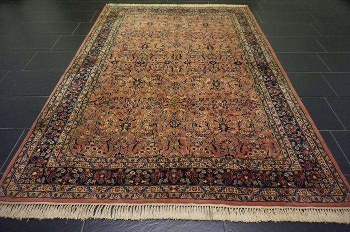 Oriental rug Indo Qom 170 x 240 cm, made in India end of last century