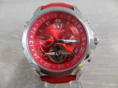 Calvaneo 1583 CM-ASP-09 Astonia Platin Red – Wristwatch – 2017 – Never worn and brand new