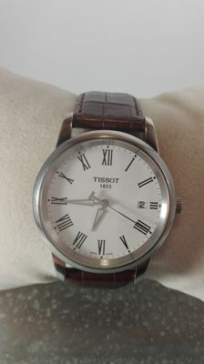 Tissot T-Classic Dream White Dial – Men's Wristwatch