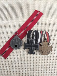 Convolute-order clip-iron cross-front fighter-winter battle in the East