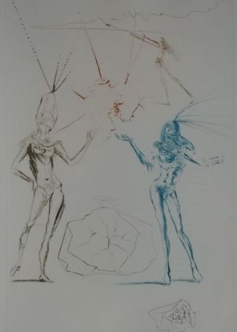 Salvador Dalí - The Lovers Condemned