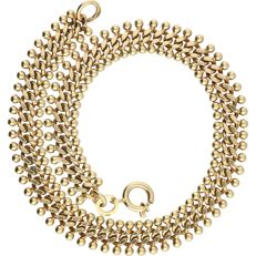14 kt - Yellow gold curb link bracelet - Length: 19 cm