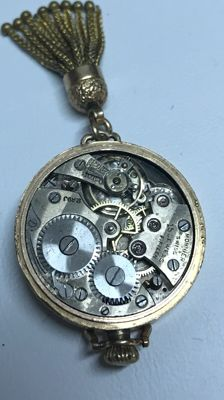 Nifty Monnier - pocket watch from 1880's
