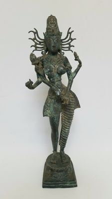 Bronze Vishnu - Indonesia - 2nd half of the 20th century