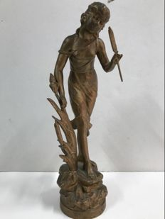 The Sourge female, golden calamine - France, 19th century