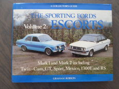 Book; Graham Robson - The sporting Fords Escorts - 1982