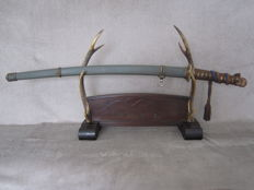 "Authentic Japanese WW2 officer's sword (Type 98) ""Shin gunto""."