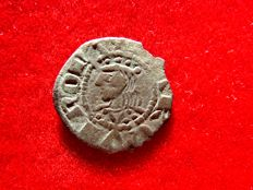 Spain – Jaime I of Aragon the Conqueror (1213 - 1276) and Count of Barcelona (1213 – 1276), fleece obolo – Barcino – (Barcelona) Scarce.