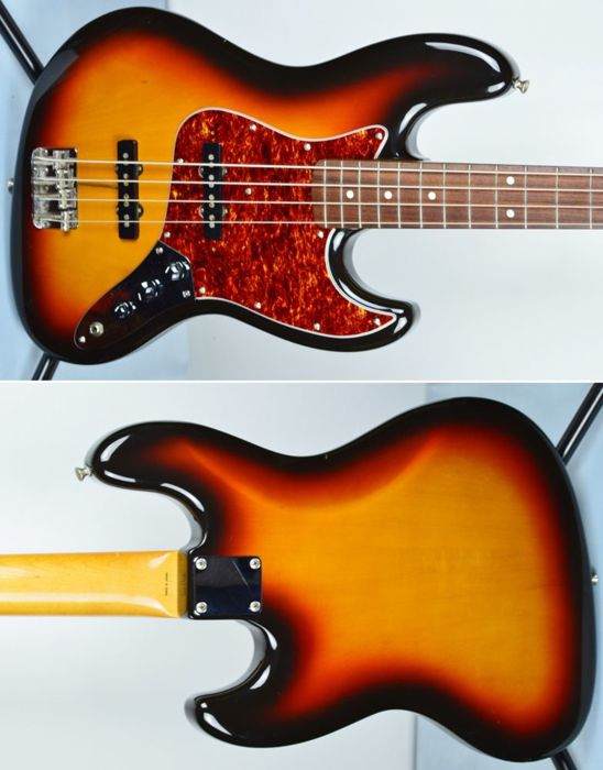 FENDER Jazz Bass 62' reissue 1962' 1993 Japan sunburst