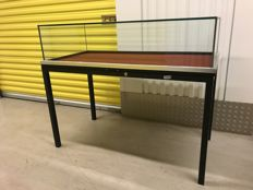 Display cabinet table model Industrial retro look