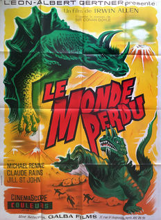 Anonymous - Le monde perdu / The lost world (Irwin Allen) - circa 1960