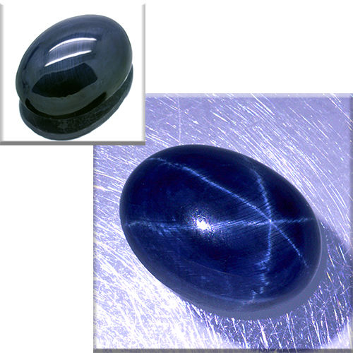 Star sapphire – 7.55 ct – No Reserve Price.