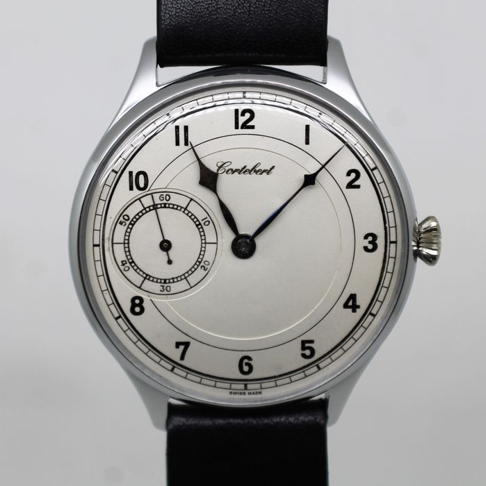 Cortébert marriage – men's wristwatch