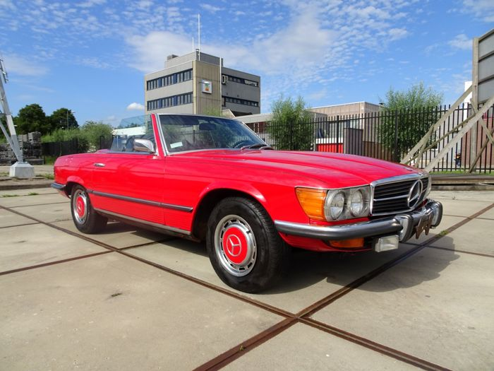 Mercedes-Benz - SL350 Roadster (decappottabile) - 1972