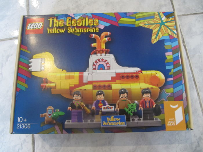 Ideas - 21306 - The Beatles Yellow Submarine
