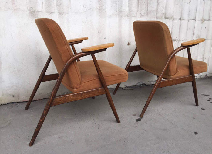 Radomsko – A pair of armchairs, type 6028