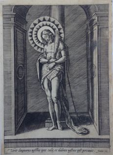 "Italian school of the 16th century. - ""Cristo alla colonna"" - 16th century"
