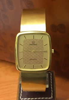 Movado Zenith Vintage, in 18 kt gold. Men's watch. Hand-wound. 1970s.