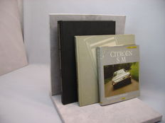 Interesting set of 3 rare books - Citroën SM / Ferrari 365 GTB Daytona / Automobiles extraordinaires - 1981 / 1984 / 1983