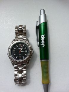 Jeep + Jeep pen - Men's wristwatch