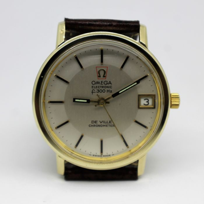 Omega De Ville Chronometer Electronic F300Hz - Men's Wristwatch - Year 1972