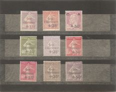 France 1928/1931 – 3 complete Sinking Fund series