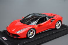 MR Models - Scale 1/18 - Ferrari 488 hardtop - Rosso Corsa - Special Limited Edition 10 pcs