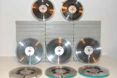 44 X Philips reels with tape