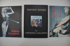 Fantasy art; Lot with 3 books - 1988 / 2001
