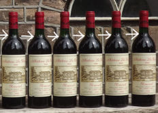 1986 Chateau La Pointe, Pomerol - 6 bottles 75cl.