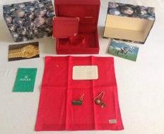 Original Rolex box set for women's gold model 69178.