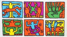 Keith Haring - Luxury Carpet