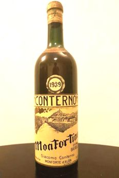 1939 Monfortino Conterno Barolo Riserva - 1 bottle