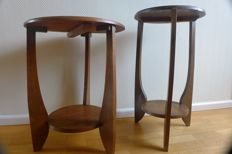 2 side tables - Amsterdam school
