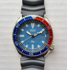 Seiko 7002-7000 42mm Pepsi Submariner – Wristwatch – 1985-1995