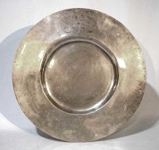 "Dish ""à la cardinal"" in pewter - France or Italy - beginning of the 18th century"