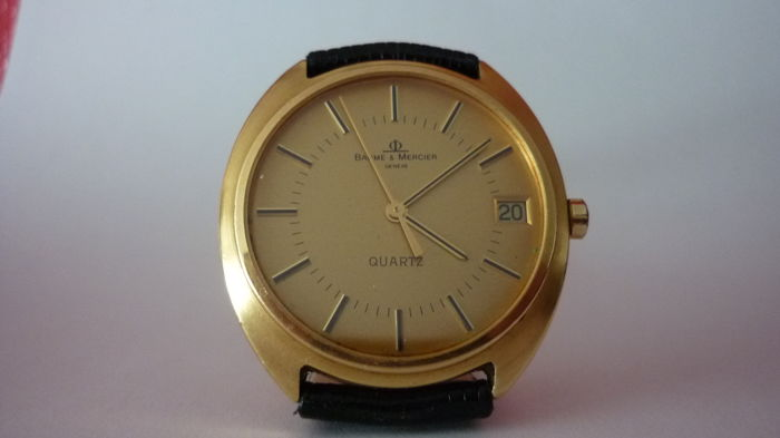 Baume & Mercier - Quartz 18k - 802510 - Heren - 1980-1989