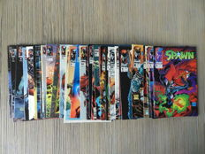 Image Comics - Spawn - Collection Of Low Numbered Issues - Including #1-3 - 35x sc (1992/1998)