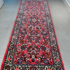 Magnificent Sarouk Persian runner - 207 x 80 - great appearance - unique opportunity