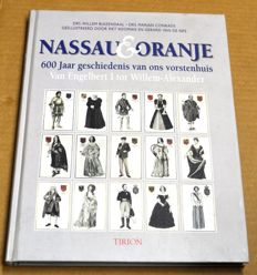 Collection of books about the House of Orange, the Dutch Royal Family