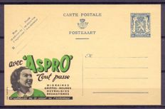 Belgium 1920/2014 – Collection of postcards with complete year series.