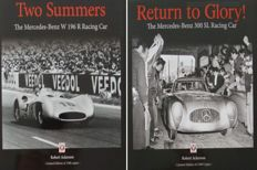 2 Books on Mercedes-Benz  300 SL Racing Car & W196R Racing Car - Limited Edition