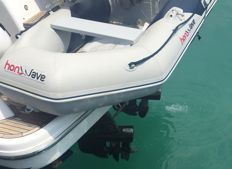 Honda Honwave, 2.40 m Tender, with Selva 4 hp engine