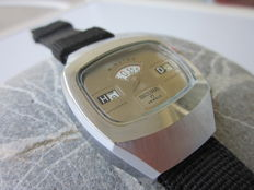 "Sicura  Jump Hour ""NOS""  Watch  - Men's watch - 1970 / 80"